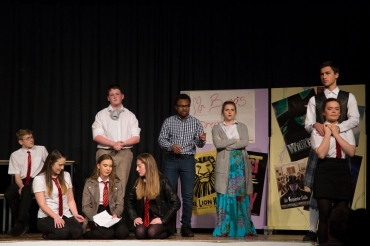 'Living with Lady Macbeth @ BVGS' - 2018